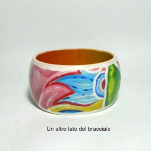 AISHA COD LML BR02 bracciale dipinto a mano