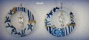 Orecchini dipinti - Linea Hanùl