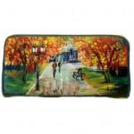 po21 Portafoglio dipinto a mano - Autumn - Leonid Afremov