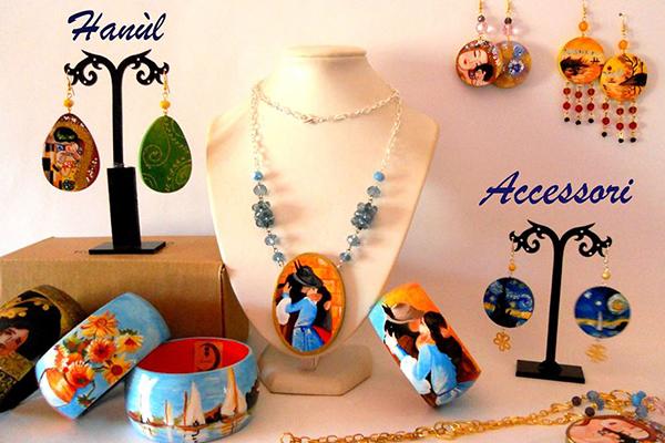 bijoux dipinti a mano