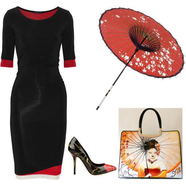 outfits borsa dipinta a mano geisha by hanul