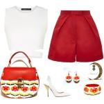outfits borsa in pelle dipinta a mano vintage lecce summer 2015
